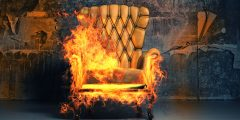 PDBE Sofa On Fire